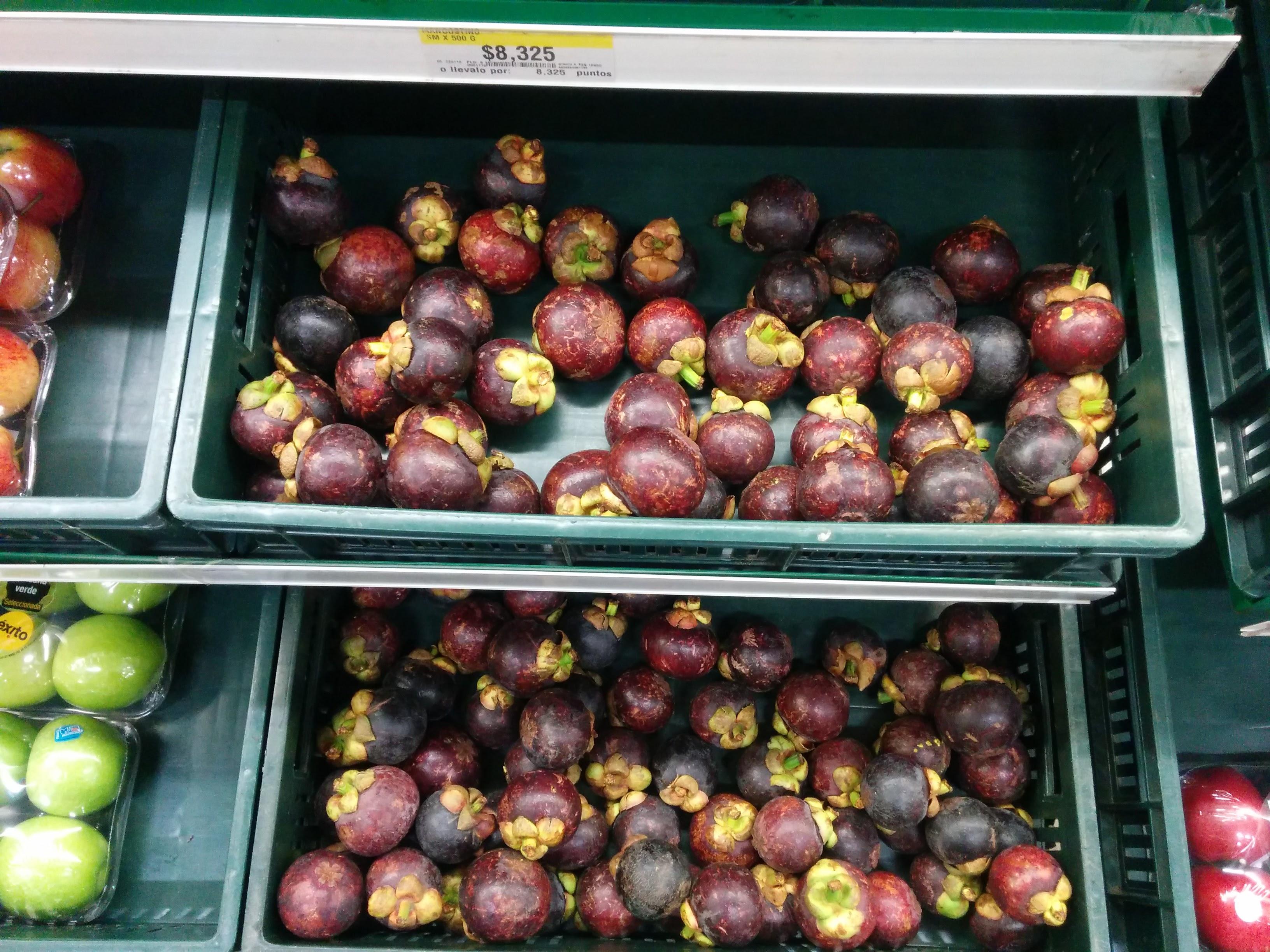 colombian mangostino fruit