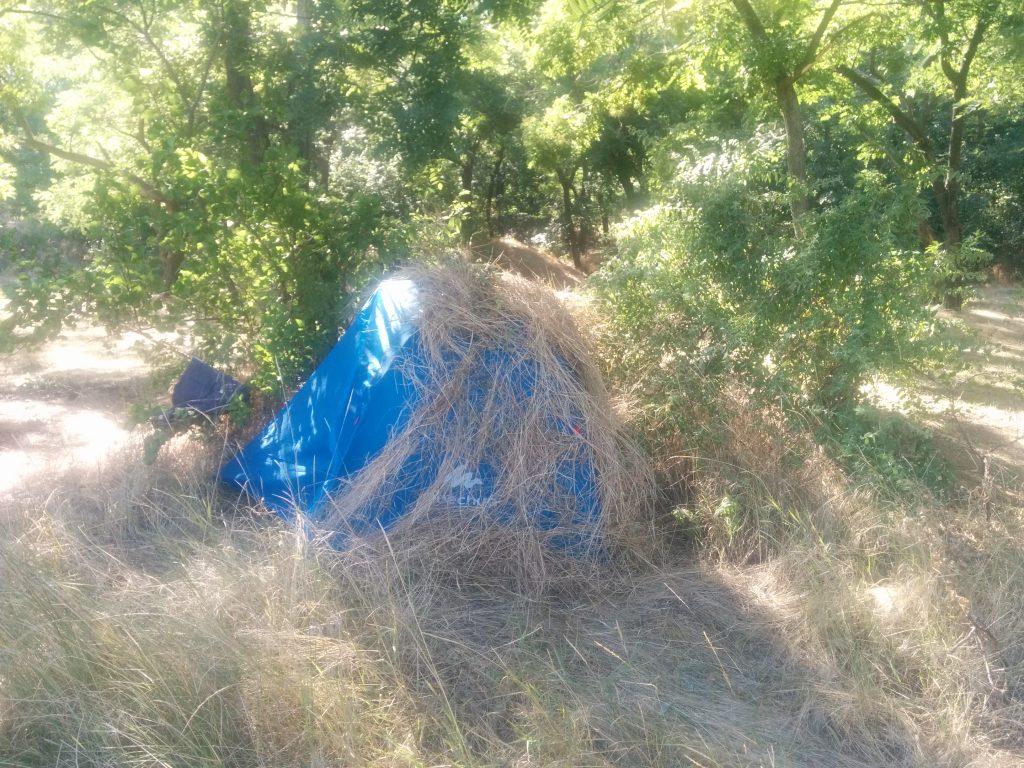 Incognito tent